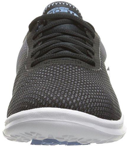 Skechers Go Step Prismatic Womens Chaussure Fitness - SS17 Black/Light Blue