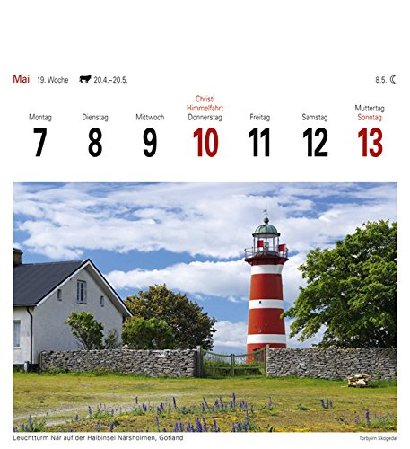 Schweden - Kalender 2018: Sehnsuchtskalender, 53 Postkarten: Alle Infos bei Amazon