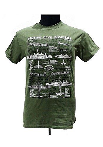 british-seconde-guerre-mondiale-les-bombardiers-avions-militaires-t-shirt-avec-motif-bleu-nuit-vert-
