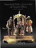 Scarica Libro SOTHEBY S catalogo asta MOBILI CERAMICHE OGGETTI D ARTE Milano 2008 (PDF,EPUB,MOBI) Online Italiano Gratis