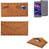 K-S-Trade Protective cover case for Medion E5008, brown.