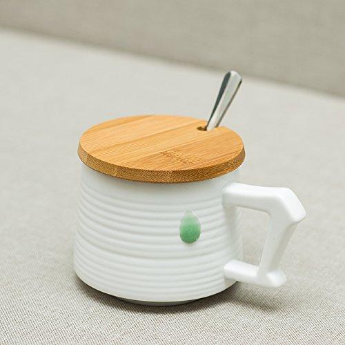 YX.LLA Tazze di ceramica dopo una tazza personalizzata creativa Mug Tazza da caffè elegante tazza (Personalizzata Cucchiaio Da Bambino)