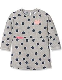 Noppies Baby-Mädchen Kleid G Dress Sweat Ls Glassboro