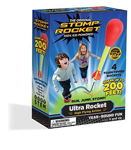 Stomp Rocket Foot Pump Air Rocket Refill 3pk