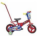 Disney-13348-Mickey-Mouse-Bicicletta-con-Canna-10-Pollici
