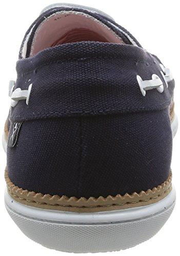 Hackett London Bamba Dockside - Chaussures de sport pour homme Bleu Marine
