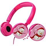 Kids Headphones, VCOM Adjustable Over Ear Lightweight Earphones Children Safe Boys Girls Music Stereo Headsets for PC iPad iPhone Smartphones Tablet -Suitable for 4-12 Years Old