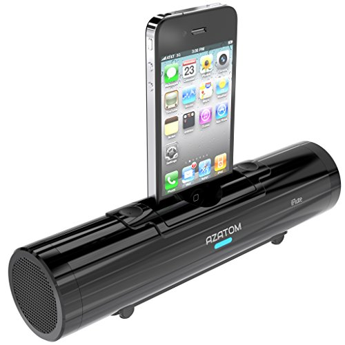 AZATOM® iFlute Black Portable Docking Station