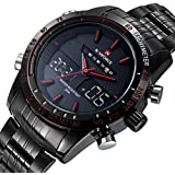 NAVIFORCE Casual Watch For Men Analog-Digital Stainless Steel - NF9024