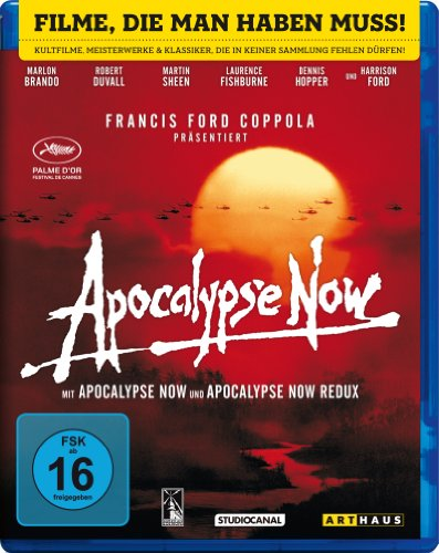 Apocalypse Now  (Kinofassung & Redux) – Digital Remastered [Blu-ray]
