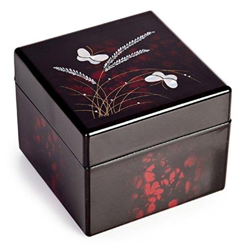 Papillon Laque Boîte à Bijoux Japonaise Traditionnelle