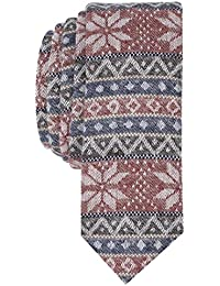 Original Penguin Men's FAIRISLE HORIZONTAL Accessory, -red, One Size