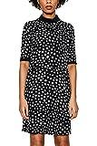 ESPRIT Collection Damen Kleid 018EO1E005, Schwarz (Black 001), 40