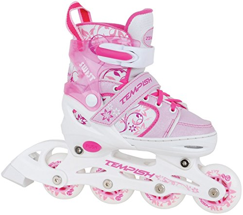 Tempish Kinder Inlineskates Swist pink - verstellbare Größen 26-29, 30-33 (30 -33)