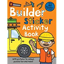 Builder Sticker Activity Book (Preschool Sticker Activity Books) by Roger Priddy (2011-06-01)