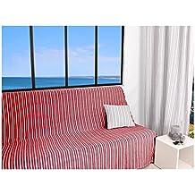 soleil docre jet de canap 170x250 cm cotonade rouge polyester coton 250x170 - Jete De Canape