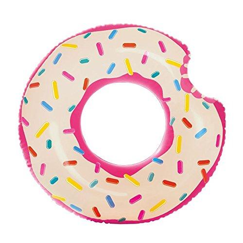 Intex - Rueda hinchable con forma de donuts, 107 x 99 cm (59265NP)
