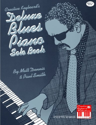 DELUXE BLUES PIANO SOLO BOOK