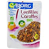 Bjorg Lentilles Carottes Doy Pack 250 g - Lot de 3
