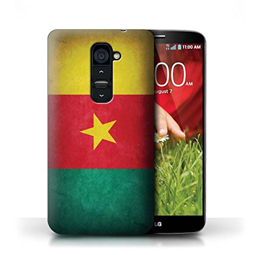 Hülle Case für LG G2 / Portugal/Portugiesische Entwurf / Flagge Collection Kamerun/Kamerun