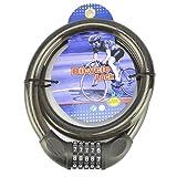 Fahrradschloß Sicherheitsschloß Zahlenschloß Spiralschloß Ø20 x 1000mm