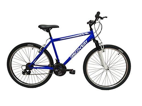 Discovery DP071 - Bicicleta Montaña Mountainbike 26' B.T.T. con amortiguación. Cambio fricción, 18 Velocidades. para Hombre