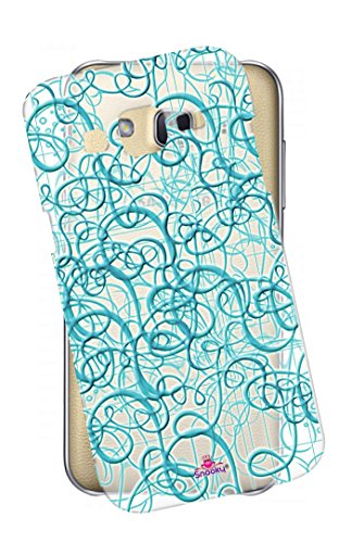 Snooky Printed transparent Silicone Back Case Cover For Samsung Galaxy Grand 2  available at amazon for Rs.299