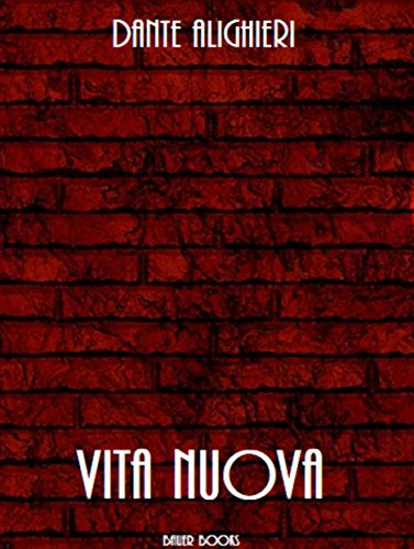 Vita Nuova por Dante Alighieri