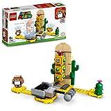 LEGO 71363 Super Mario Woestijn-Pokey - uitbreidingsset, bouwspel