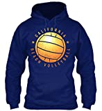 Bequemer Hoodie Damen / Herren / Unisex - 2XL - California Beach Volleyball T-Shirt - Ba