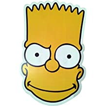 The Simpsons - Bart - Card Face Mask - Licensed Product