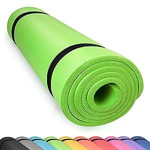 diMio Yogamatte Gymnastikmatte rutschfest mit Tragegurt, phlatatfrei +...