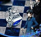 Skylynn-- Black Butler anime Ciel Phantomhive anillo accesorios Perfecto para cosplay para el uso diario