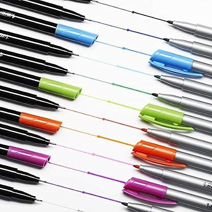 BIC Intensity Estuche de rotuladores de punta fina y Media – Varios colores, Estuche de Regalo