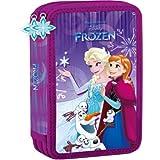 Frozen Olaf Disney Märchenfigur Federtasche Federmappe Federmäppchen für Mädchen 26-teiliges gefüllt Schüleretui