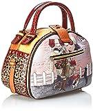 Nicole Lee Bowler Bag, Flower Leopard, One Size