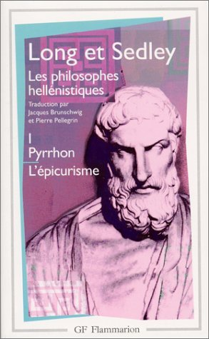 Les philosophes hellnistiques by Anthony Arthur Long (1997-09-12)