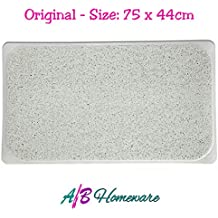LARGE LOOFAH NON SLIP HYDRO SHOWER BATH MAT FOR SHOWERS BATH AND WATER AREA HYGIENE MOULD AND STAIN RESISTANT by A&B HOMEWARE®