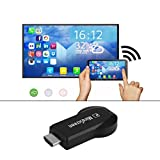 CyberKit HD WiFi Display Receiver DLNA Airplay Miracast DLAN Dongle HDMI 1080P, WiFi-Dongle 2018 verbesserte Version für iOS / Android / Windows / Mac