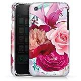 DeinDesign Coque Compatible avec Apple iPhone 3Gs Étui Housse Fleurs Falltrend Fleur