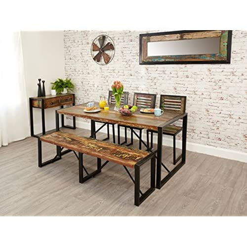 Dining Table Bench Amazoncouk