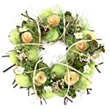 Osterkranz, Blütenkranz, Türkranz, Dekokranz, Natur, Kranz, Ostereier, Ø ca.30cm
