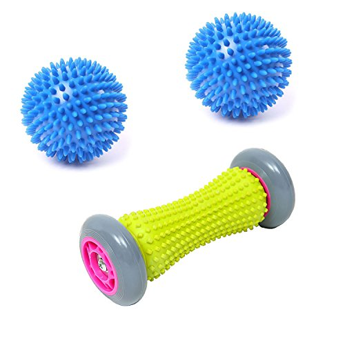 Fuß Massage Roller und Massage Ball Set