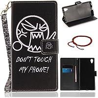 GOCDLJ PU Hülle per Sony Xperia XA1 Plus Leder Flip Cover Tasche Ledertasche Handytasche Handyhülle Case Etui... preisvergleich bei billige-tabletten.eu