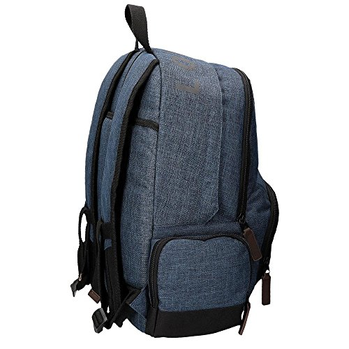 Imagen de pepe jeans 62925a1 worn 73  escolar, 21.6 litros, color azul alternativa