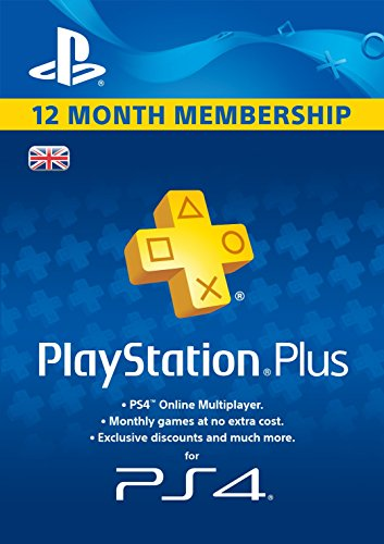 Price comparison product image PlayStation Plus 12 Month Membership  [PSN Download Code - UK account]