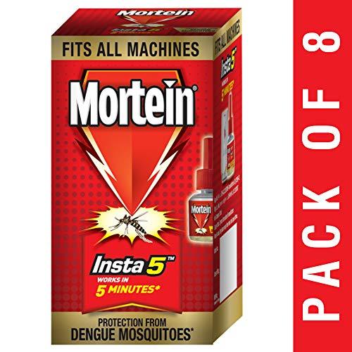 Mortein Insta5 Vaporizer Refill - 35 ml (Pack of 8)
