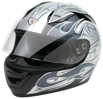 Bottari Casco Moto, Argento, XL