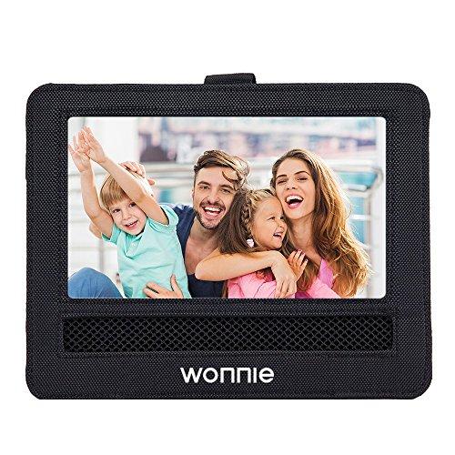 WONNIE Support Voiture Appui-tête Housse de Protection pour 12.5' Lecteur DVD Portable 10,5' Grand écran Pivotant