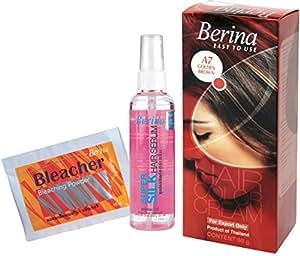 Berina Hair Color, Serum and Bleacher, Golden Brown
